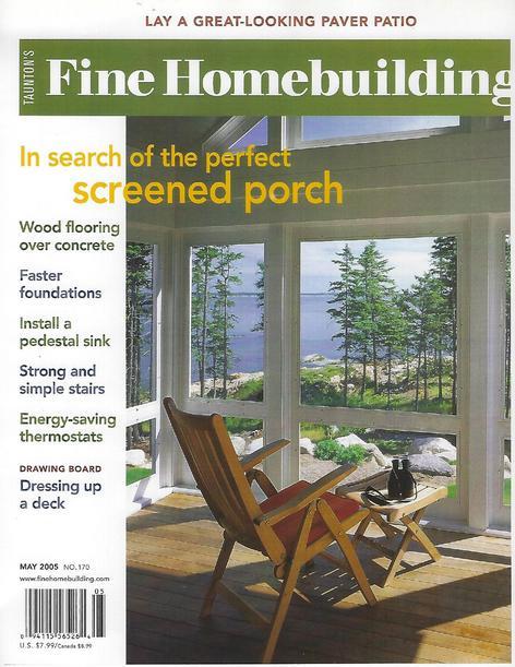 Fine Homebuilding May 2005