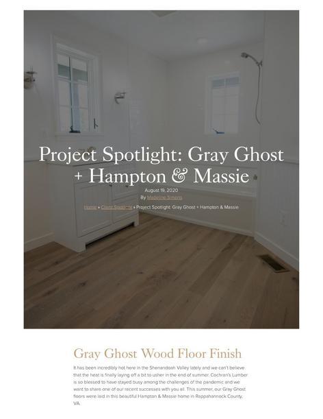 Project Spotlight Hampton Massie Cochrans Lumber