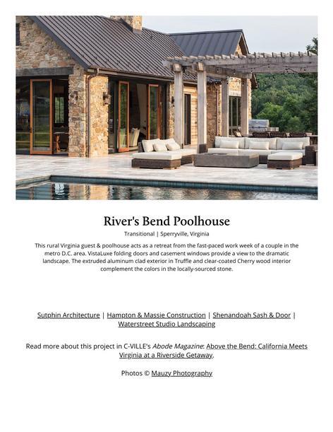 River's Bend Poolhouse _ Kolbe Windows & Doors